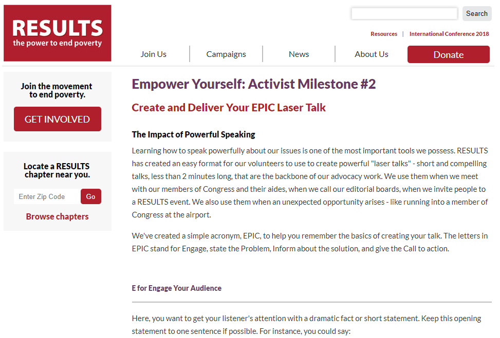 Create and Deliver Your EPIC Laser Talk