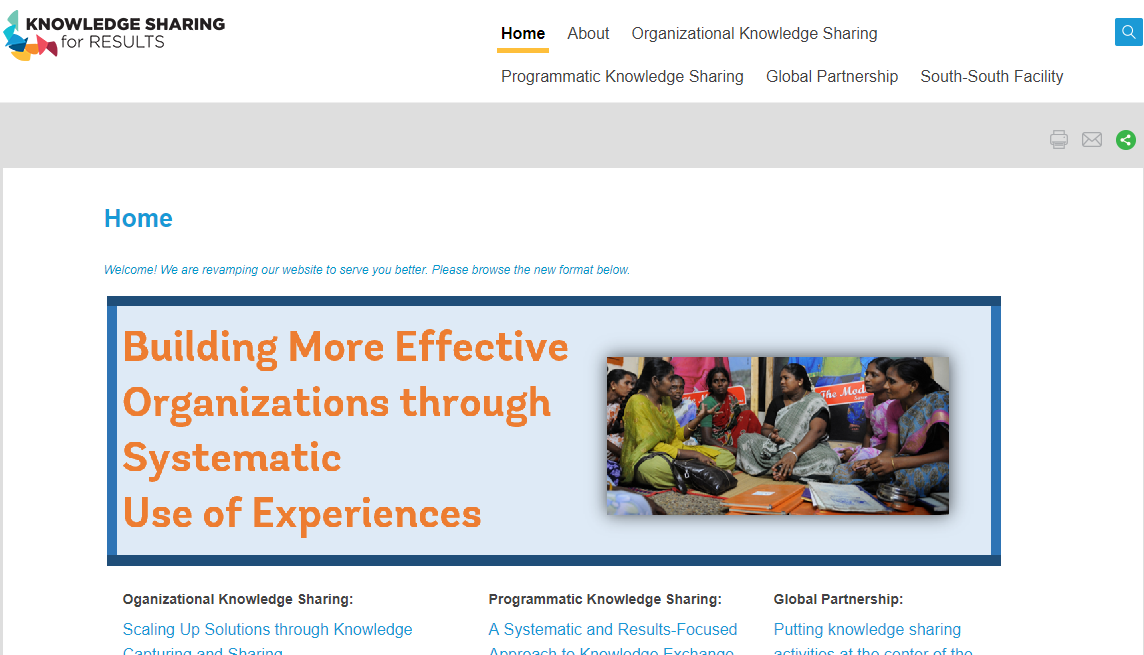 The Art of Knowledge Exchange: A Results-Focused Planning Guide for Development Practitioners
