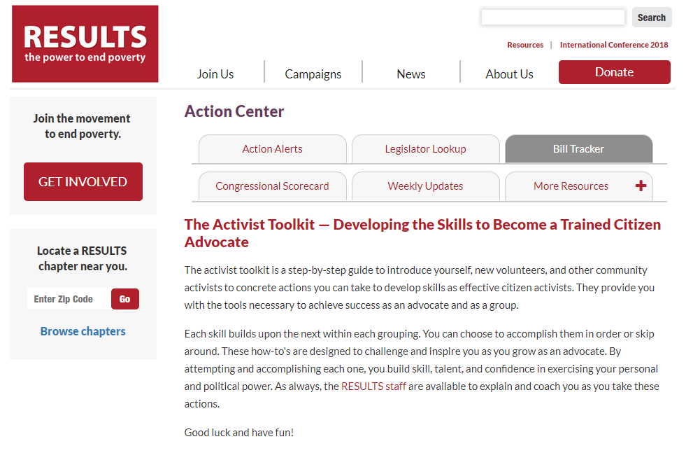 The Activist Toolkit: Developing the Skills to Become a Trained Citizen Advocate