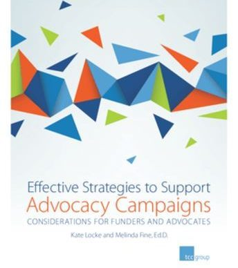 Effective Strategies to Support Advocacy Campaigns TCCGroup
