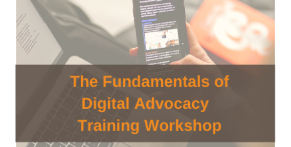 AAC Training Workshop: The Fundamentals of Digital Advocacy 21 January 2021