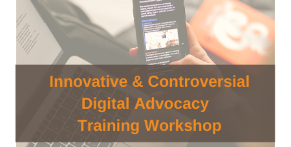 AAC Training Workshop: Innovative and Controversial Digital Advocacy 28 January 2021